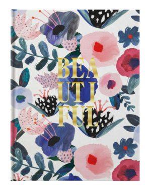 Ежедневник датированный 2021 Beautiful, А5, белый