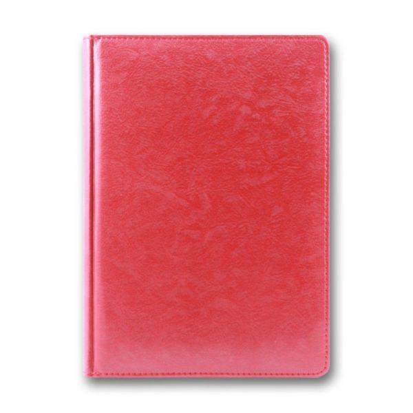 Ежедневник А5 датированный 2021 SARIF 3В-55, красный