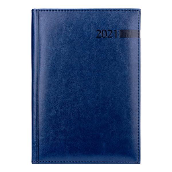 Ежедневник А5 датированный 2021 Persona синий
