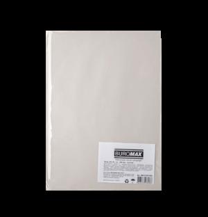 Бумага газетная, BUROMAX, А4, 45 г/м2, 100 листов