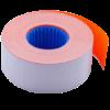 Ценник 26×16 мм (1000 шт, 12 м), прямоугольный, внутренняя намотка, оранжевый, 10шт/туба