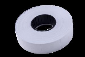 Ценник 16×23 мм (600 шт), вертикальный, прямоугольный, белый