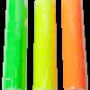 Ценник 22×12 мм (500 шт, 6 м), фигурный, внешняя намотка, желтый, 10шт/туба 47544