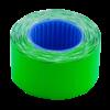 Ценник 26×16 мм (375 шт, 6 м), фигурный, внешняя намотка, зеленый, 10шт/туба