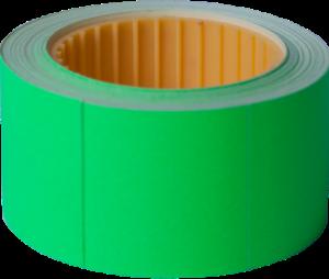 Ценник 30×40 мм, (150 шт, 4.5 м), прямоугольный, внешняя намотка, зеленый, 10шт/туба