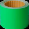 Ценник 50×40 мм, (100 шт, 4 м), прямоугольный, внешняя намотка, зеленый, 10шт/туба