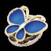 """Набор подарочный """"Papillon"""" : ручка шариковая + крючок для сумки, синий 47055"""