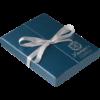 """Набор подарочный """"Papillon"""" : ручка шариковая + крючок для сумки, синий 47438"""