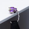 """Набор подарочный """"Papillon"""" : ручка шариковая + крючок для сумки, синий 47056"""