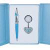 """Набор подарочный """"Miracle"""": ручка шариковая + брелок, синий"""