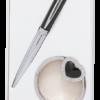 """Набор подарочный """"Crystal"""" : ручка шариковая + крючок для сумки, черный"""