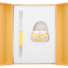 """Набор подарочный """"Sense"""" : ручка шариковая + крючок для сумки, желтый"""