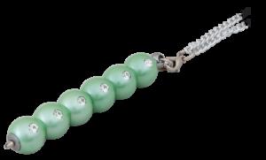 """Ручка шариковая """"Secret"""", с кристаллами, зеленый"""