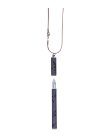 """Ручка шариковая """"Lace"""" с цепочкой 70см, черный"""