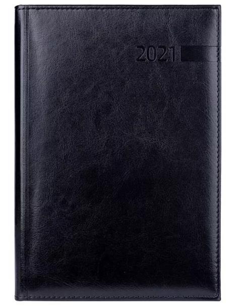 Ежедневник А5 датированный 2021 Persona черный