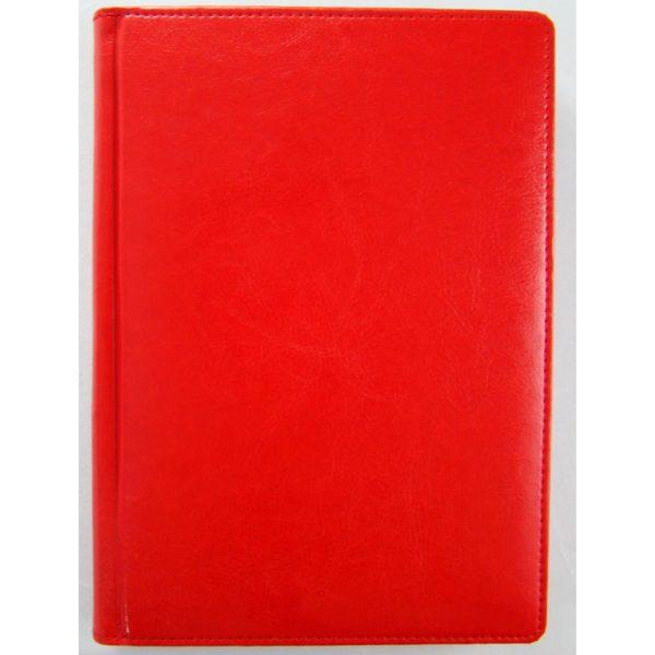 Еженедельник А4 датированный 2021 SARIF 3В-82, красный