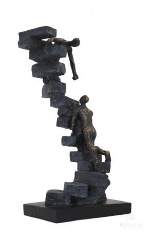 Статуэтка из смолы и бронзы ITALFAMA Altruism «Альтруизм» 16 х 14 х 31 см