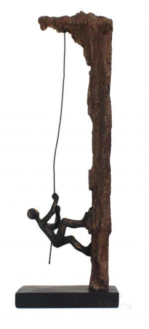 Статуэтка из смолы и бронзы ITALFAMA Climb To The Finish Line «Двигайся к победе» 14 х 8 х 42 см
