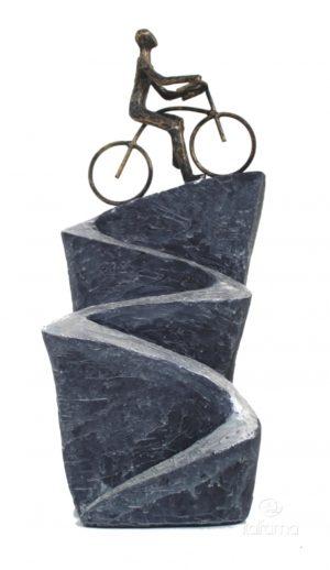 Статуэтка из смолы и бронзы ITALFAMA The Path Of Life «Жизненный путь» 15 х 12 х 37 см