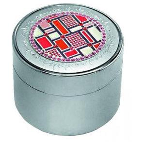 Шкатулка для украшений Jardin D`ete 8,5х7,1 см, серебристый