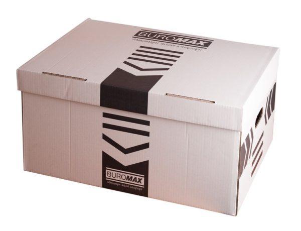 Короб для архивных боксов, белый