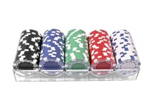 Набор для игры в покер Duke 100 фишек в пластиковом кейсе