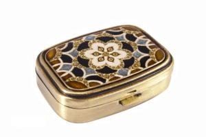 Пепельница карманная Leif Lowe 5,5x4x1,5 см, золотистый