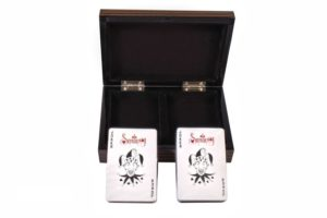 Две колоды карт Duke в деревянной шкатулке