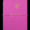 Блокнот деловой NICE, А5, 96л., гибкая обложка из кожзама, линия, малиновый