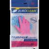 Перчатки для уборки суперпрочные Buroclean, размер M, розовые