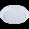 Тарелка одноразовая, d-20,5см, белая, 1-секция, 5,5-6г, 100шт