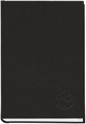 Книга алфавитная А5, 112 листов, черная