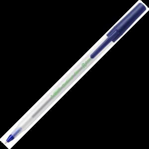 """Ручка шариковая """"ROUND STIC ECO"""" пластиковый корпус, 0,3мм, синяя"""