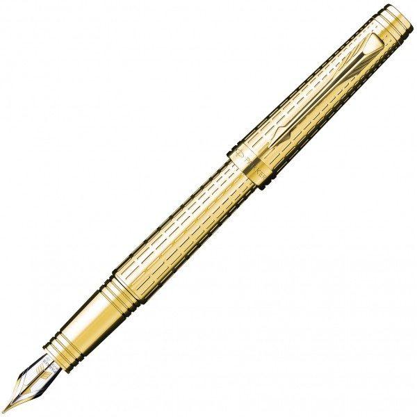 Перьевая ручка Parker Premier Deluxe GT FP 89 512