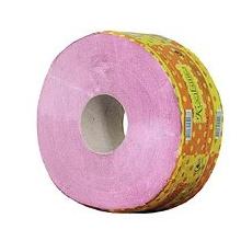 Туалетная бумага d-19см, 1-слойная, розовая