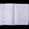 Дневник школьный COOL GIRL B5, 48 листов, твердая обложка, иск.кожа / поролон, малиновый 52242