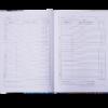 Дневник школьный COOL GIRL B5, 48 листов, твердая обложка, иск.кожа / поролон, малиновый 52243