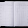 Дневник школьный COOL GIRL B5, 48 листов, твердая обложка, иск.кожа / поролон, малиновый 52244
