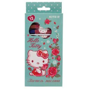 Пастель масляная шестигранная 12 цветов Hello Kitty HK19-071