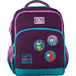 Рюкзак GoPack Education 113-4 Lama, 20л, светоотражающие элементы, фиолетовый