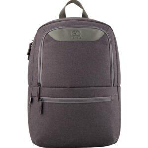 Рюкзак для ноутбука GoPack Сity 1 отделения, светоотражающие элементы, серый