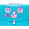 Портфель-коробка пластиковый на застежке А4 My Little Pony, 1отд. LP20-209