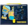 Портфель-коробка пластиковый на застежке А4 Transformers, 1отд. TF20-209