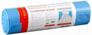 Пакеты для мусора прочные PRO-16002000, 160л, 10шт, 25мкм, синие