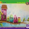 Альбом для рисования ZIBI 8 листов, 120г/м2, на скобе 52231