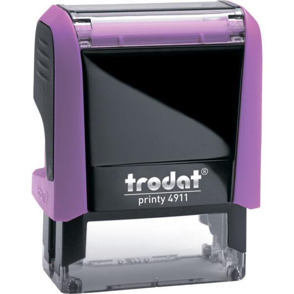 Оснастка для штампа 38х14мм TRODAT, розовый корпус