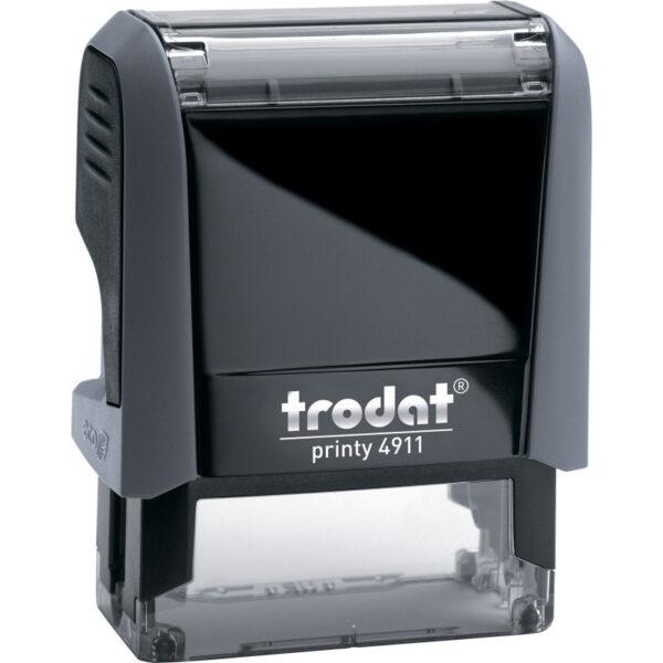 Оснастка для штампа 38х14мм TRODAT, серый корпус