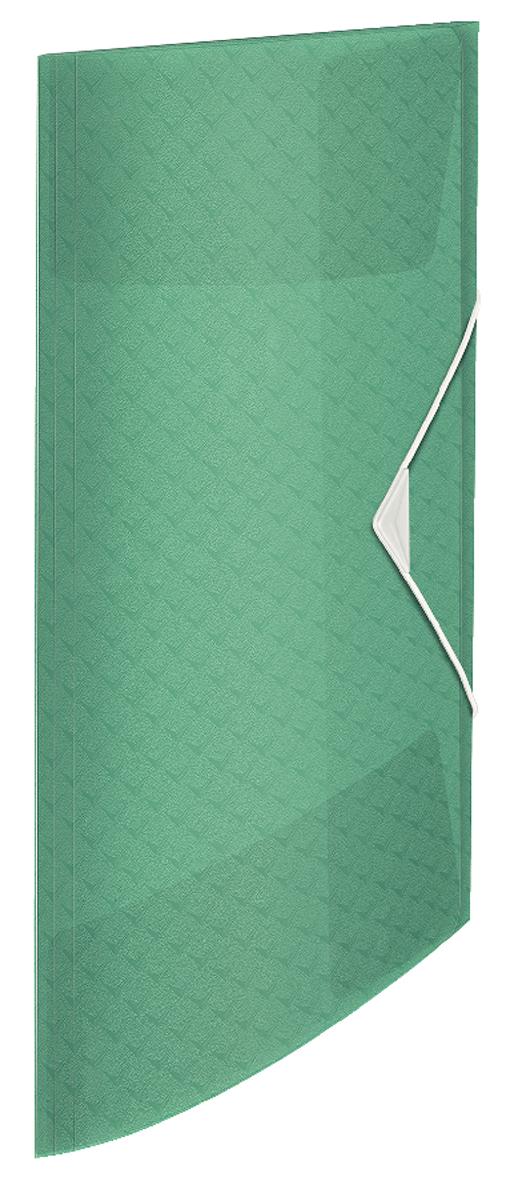 Папка на резинке А4, Esselte Colour'ice, PP на 150 листов, зеленая