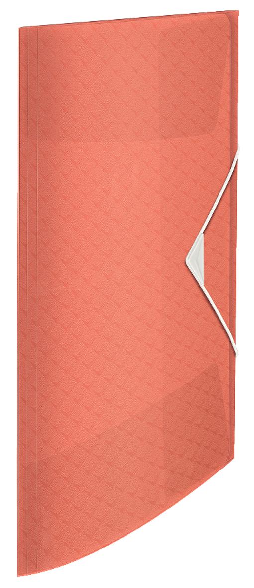 Папка на резинке А4, Esselte Colour'ice, PP на 150 листов, абрикосовая