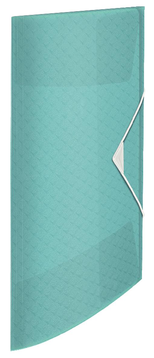 Папка на резинке А4, Esselte Colour'ice, PP на 150 листов, голубая